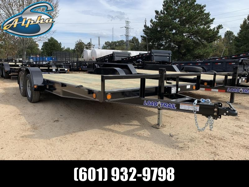 "2019 Load Trail 83"" x 18' Carhauler 7k GVWR"