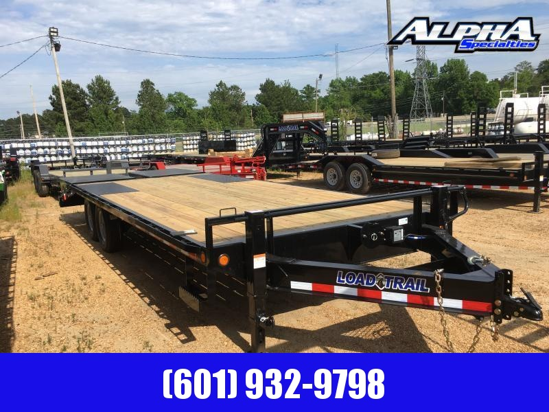 "2019 Load Trail 102"" x 24' Deckover Flatbed Equipment Trailer 14k GVWR"