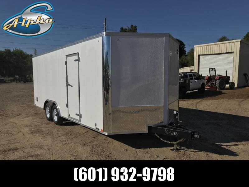 New 2019 United Trailers 8.5 x 23 Tandem Axle Enclosed Car Hauler