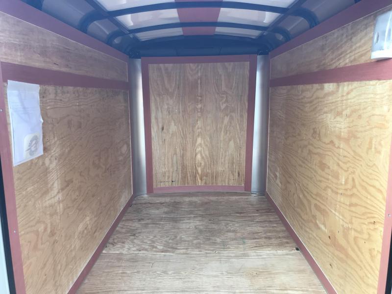 New 5 x 8 Single Axle Enclosed Cargo Trailer