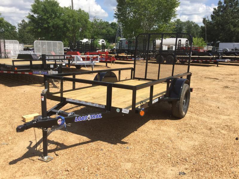 "2018 Load Trail 60"" x 10' Single Axle Utility 3k GVWR"