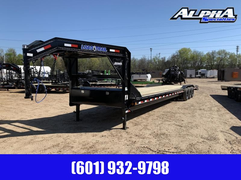 Used 2019 Load Trail 102 x 40 Triple Axle Gooseneck Car/Equipment Hauler