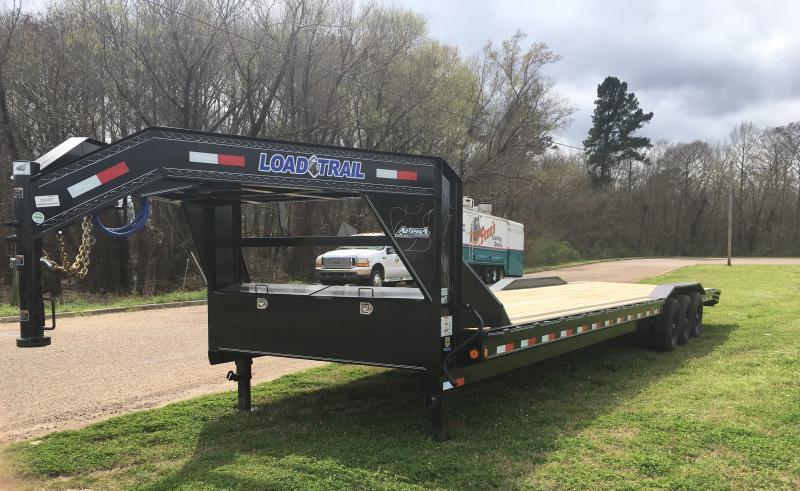 2019 Load Trail 102 x 36 Triple Axle Gooseneck Car Hauler 21K GVWR