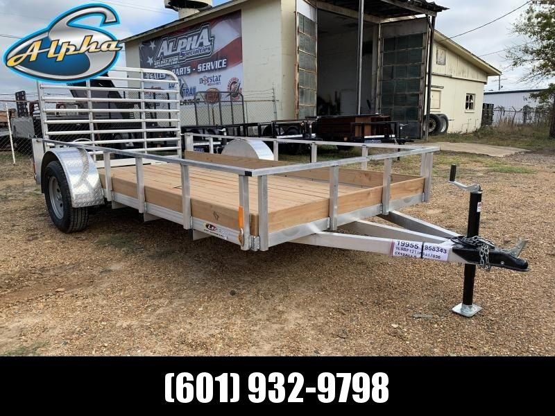 2019 Legend Aluminum 6 x 12 Single Axle Utility Trailer 3K GVWR in Ashburn, VA