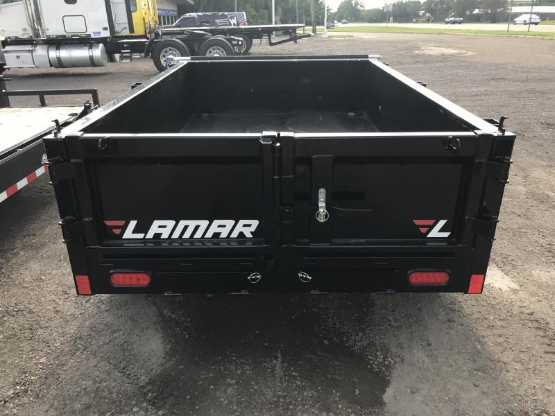 2018 Lamar Trailers 5' x 8' Dump 7k GVWR
