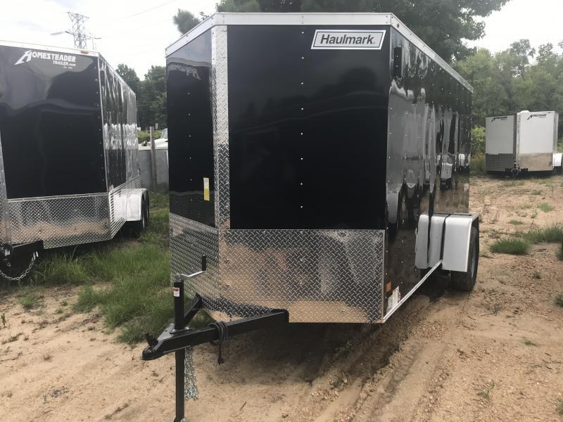 New Haulmark 6 x 12 Single Axle Enclosed Trailer