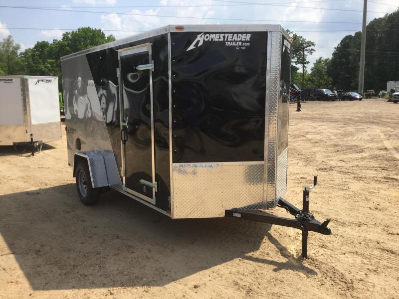 New 6 x 12 Single Axle Enclosed Cargo Trailer