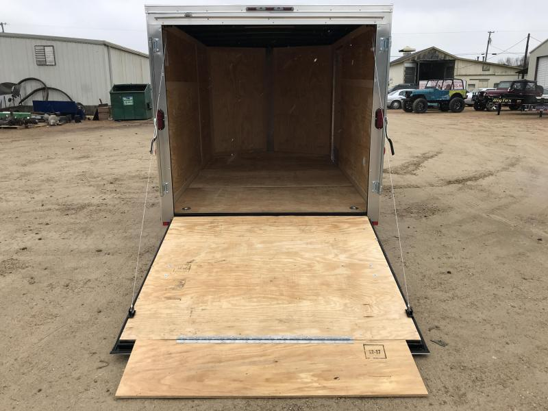 New 2019 7 x 12 Tandem Axle Enclosed Cargo Trailer