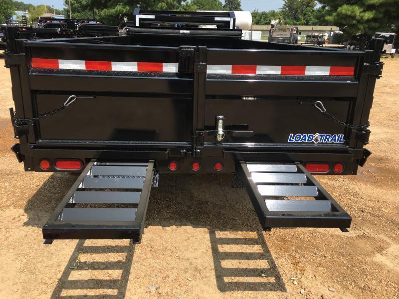 "2019 Load Trail 83"" x 16' Gooseneck Dump Trailer 14k GVWR"