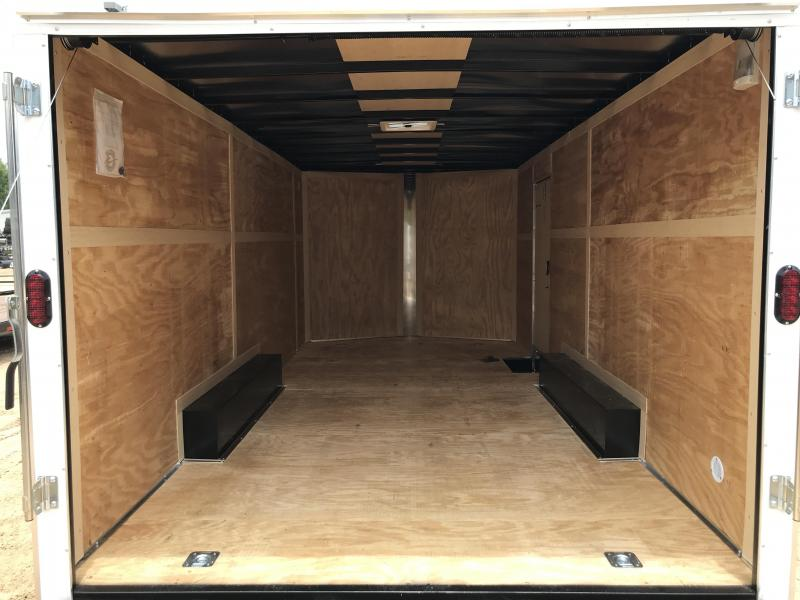 New 2019 8.5 x 18 Tandem Axle Enclosed Cargo Trailer