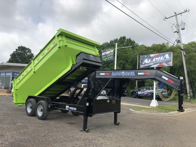 "2019 Load Trail 83"" x 14' Gooseneck Drop-N-Go"