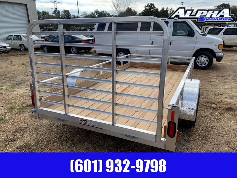 2019 Legend Aluminum 6 x 12 Single Axle Utility Trailer 3K GVWR