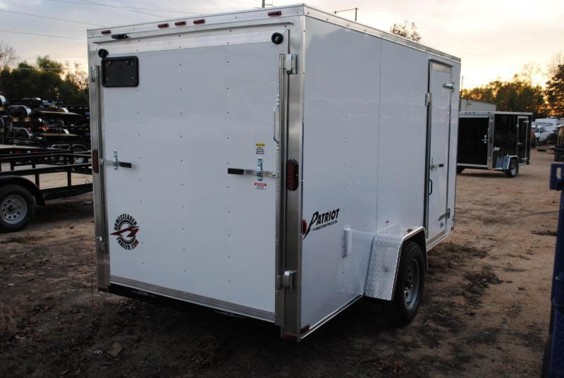 2019 Homesteader 6' x 12' Enclosed Trailer 3k GVWR