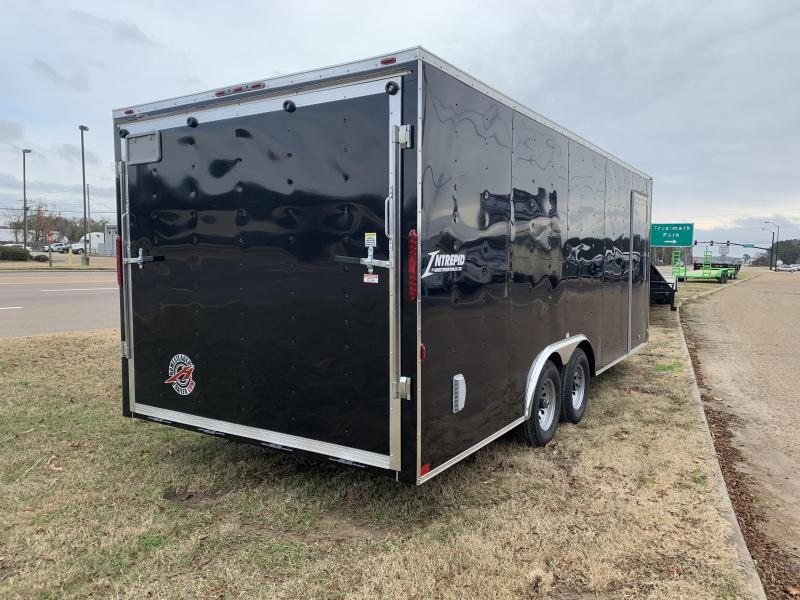 New 8.5 x 20 Tandem Axle Enclosed Cargo Car Hauler 10K GVWR