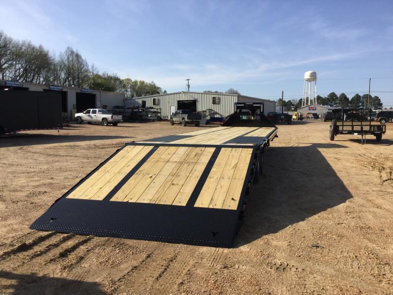 "2018 Iron Bull 102"" x 40' Equipment Flatbed 24K GVWR"
