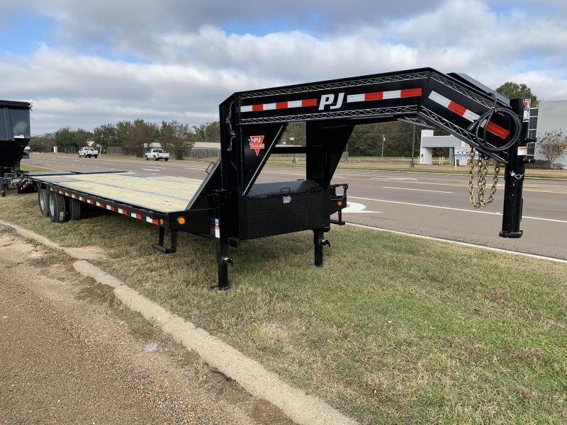 "2019 PJ Trailers 102"" x 32' Low-Pro Gooseneck 24k GVWR"