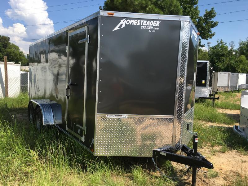 New 2019 7 x 16 Tandem Axle Enclosed Trailer