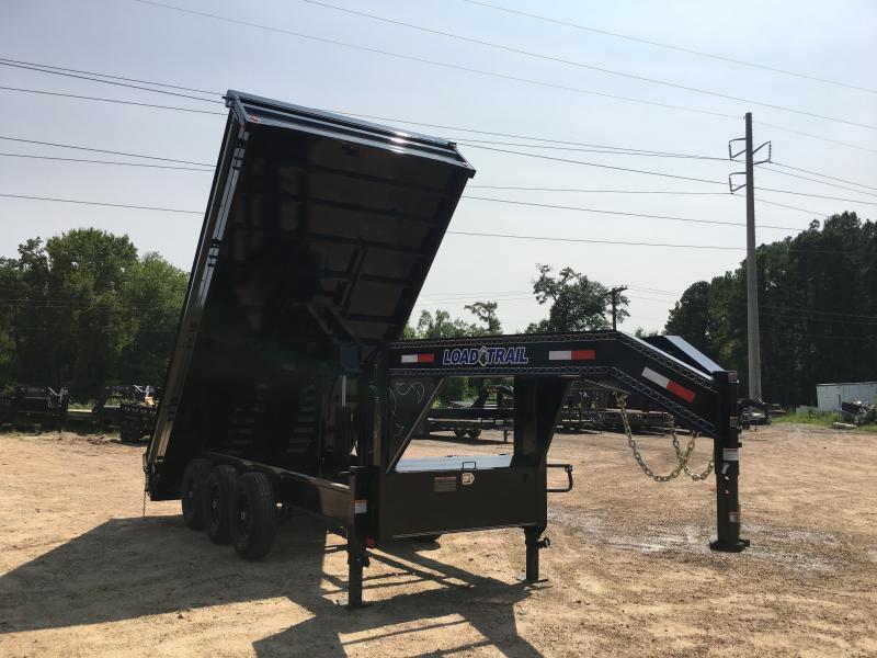 "2018 Load Trail 96"" x 16' Triple Axle GN Dump 21k GVWR"