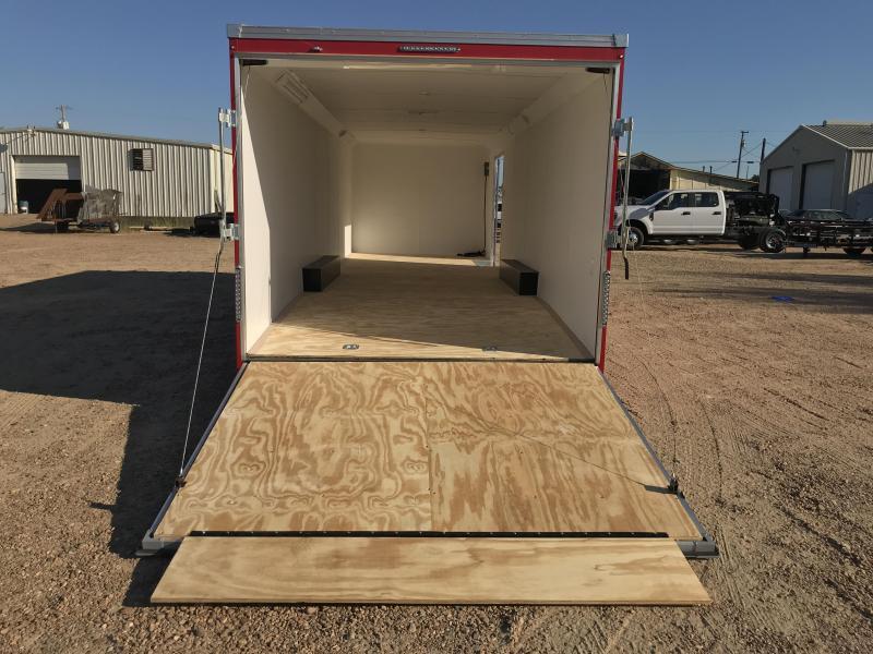 New 2019 United Trailer 8.5 x 28 Tandem Axle Enclosed Car Hauler