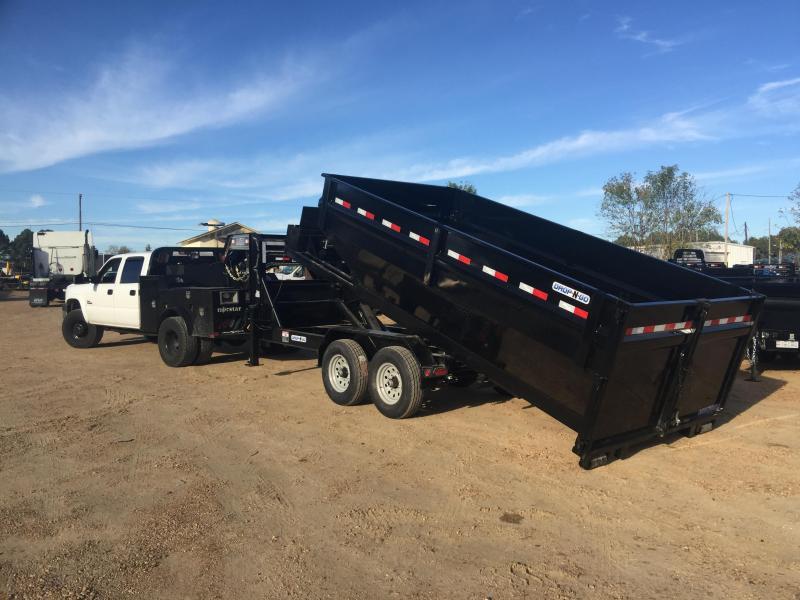 """2019 Load Trail 83"""" x 14' Gooseneck Drop-N-Go Dumpster w/ 1 Bin"""