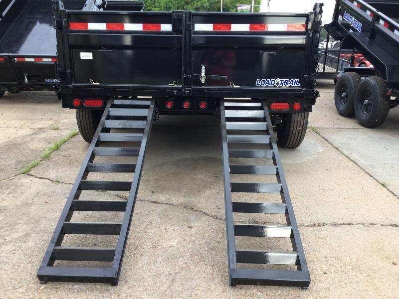 "2018 Load Trail 83"" x 14' Dump Trailer 14k GVWR"