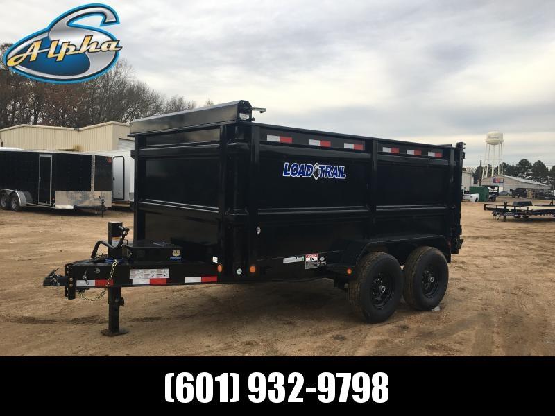 "2019 Load Trail 83"" x 12' Dump Trailer 14k GVWR"