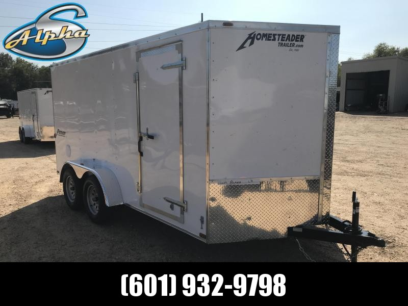 New 2019 7 x 14 Tandem Axle Enclosed Cargo Trailer