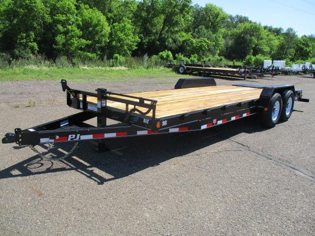 "2020 PJ Trailers 22' x 6"" Channel Equipment Trailer"