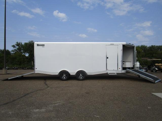 2018 Mission MCH8.5x22-AS All Sport Trailer Car Hauler/Snow Combo in Ashburn, VA