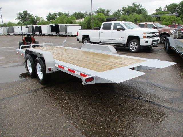 2019 Galvanized 20' Equipment Tilt Equipment Trailer