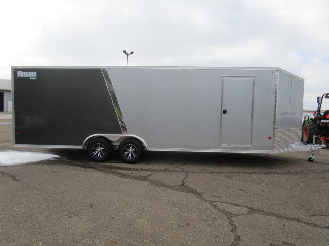 2019 Mission MCH8.5x24-AS All Sport Trailer Car Hauler/Snow Combo S010476