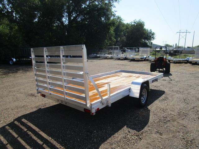 2019 Aluma 7814 Edge Series Wood Deck Utility Trailer