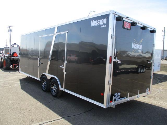 2019 Mission MCH8.5x24-AS All Sport Trailer Car Hauler/Snow Combo