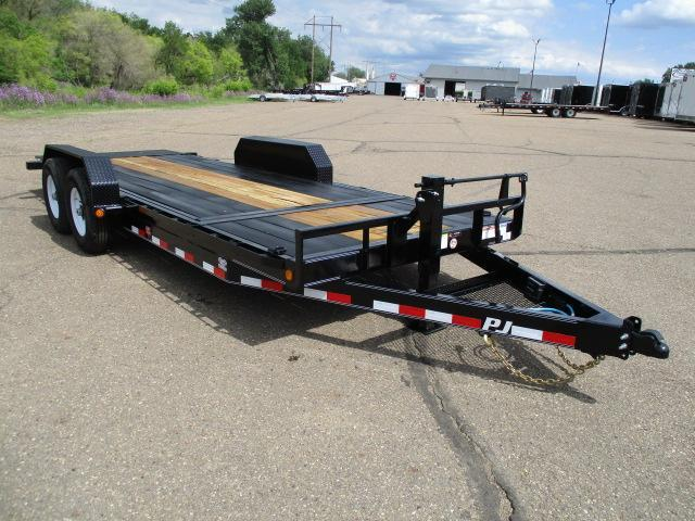 "2020 PJ Trailers 20'x6"" Channel Equipment Tilt"