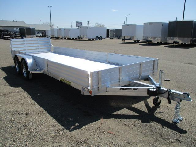 2020 Aluma 8120TA SR Tandem Axle Utility Trailer