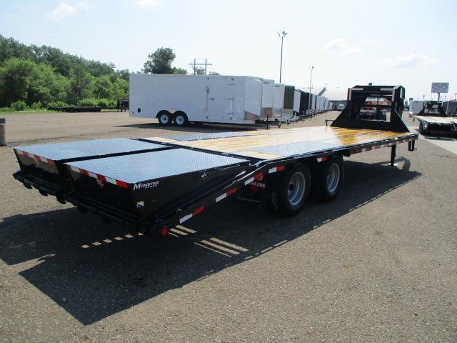 2020 PJ Trailers 26' Low-Pro Flatdeck with Duals Flatbed Trailer