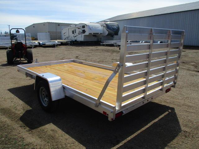 2020 Aluma 7812 Edge Series Wood Deck Utility Trailer