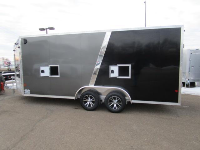2019 EZ Hauler EZES7.5X18-IF Enclosed Snowmobile Trailer