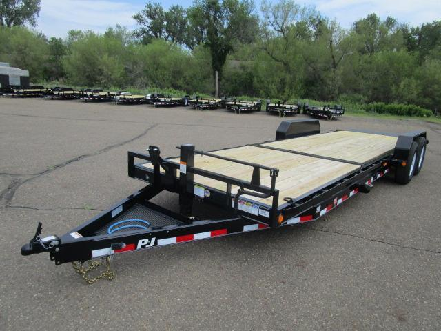 "2019 PJ Trailers 24'x6"" Channel Equipment Tilt Trailer"