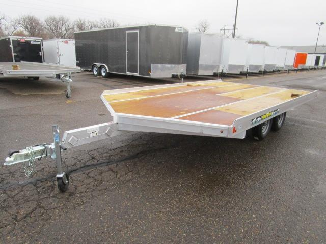 2018 Aluma 861413 Snowmobile Trailer