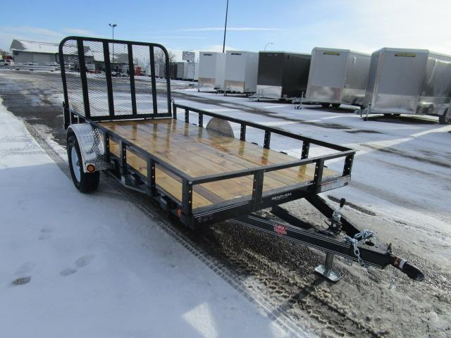 "2019 PJ Trailers 12'x72"" Sngl Axle Channel Utility Trailer"