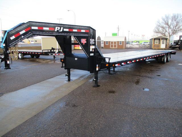 2020 PJ Trailers 40' Low-Pro Flatdeck with Duals Trailer