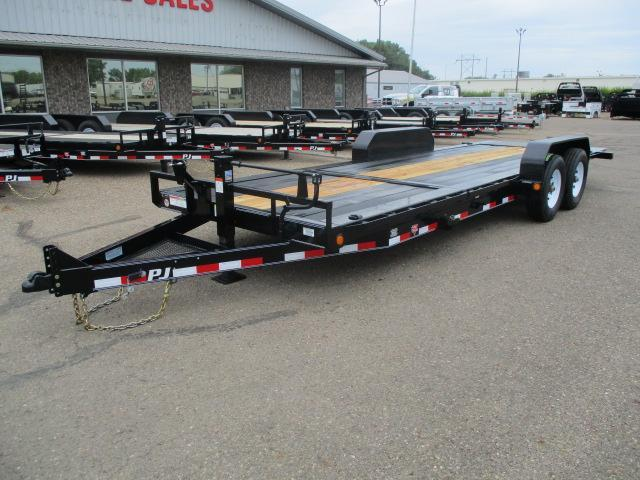 "2020 PJ Trailers 22' HD Equipment Tilt 6"" Channel"