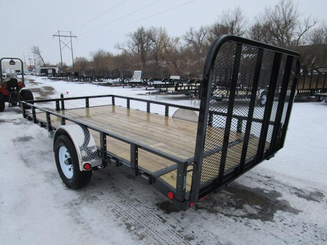 "2019 PJ Trailers 14' x 83"" Single Axle Channel Utili Trailer"