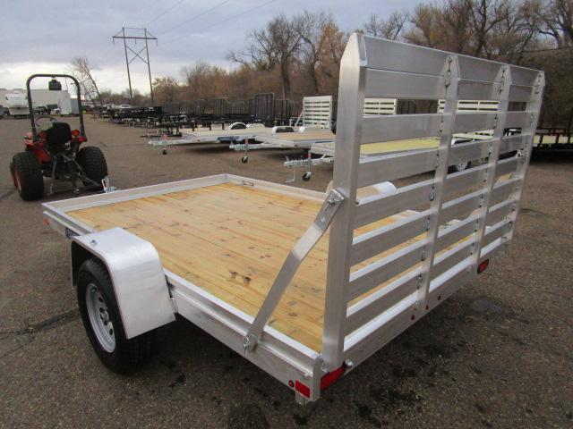 2018 Aluma 7810 Edge Series Wood Deck Utility Trailer
