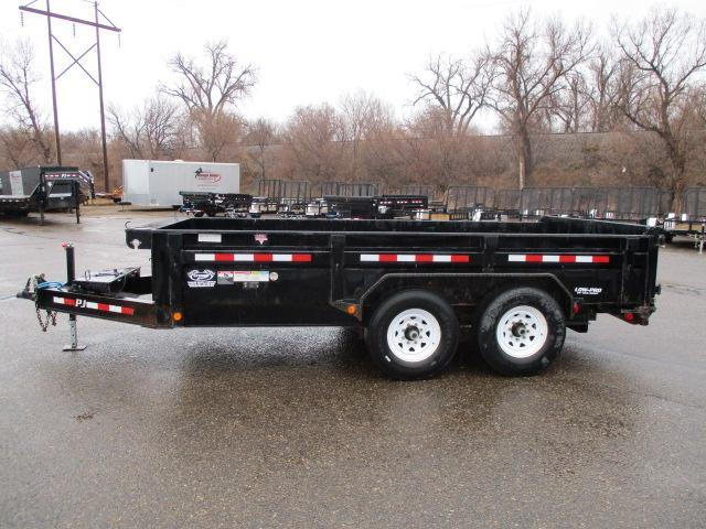 2014 PJ Trailers 14 x 83 Low Pro Dump Trailer