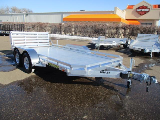 2020 Aluma 7814 BT Tandem Axle Utility