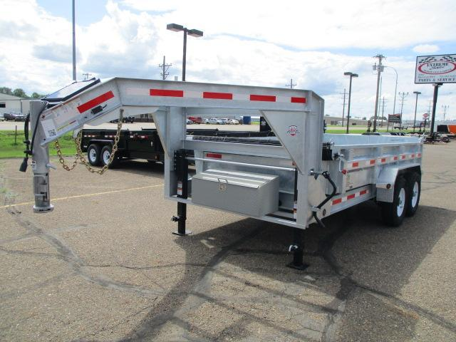"2019 Galvanized 14' x 83"" Dump Trailer in Ashburn, VA"