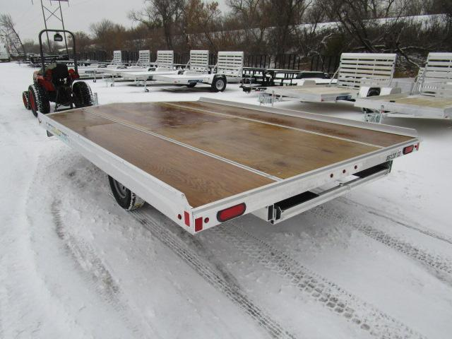 2018 Aluma 861213D Snowmobile Trailer