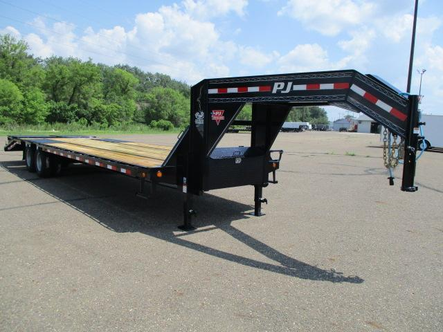 2020 PJ Trailers 30' Low-Pro Flatdeck with Duals Flatbed Trailer